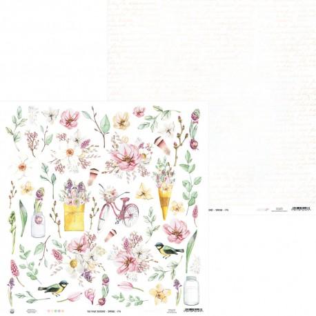 "PIATEK13 - The Four Seasons - Spring 07A - 12""x12"""