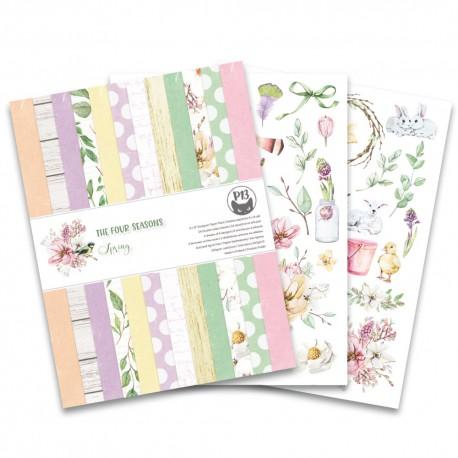 "PIATEK13 -  Paper Pad - The Four Seasons - Spring 6x6"""