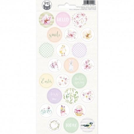 PIATEK13 - Sticker sheet -  The Four Seasons - Spring 03