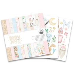 "PIATEK13 -  Paper Pad - Baby Joy 6""x6"""