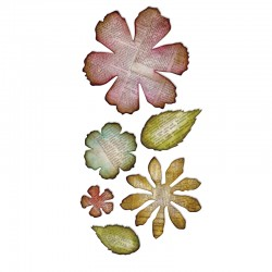 Jumbo Tattered Florals