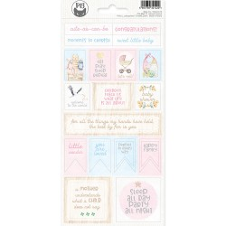 PIATEK13 - Sticker sheet -  Baby Joy 02