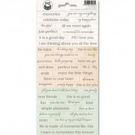 PIATEK13 - Sticker sheet -  Till We Meet Again 01