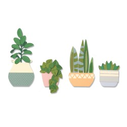 Sizzix - Fustella Thinlits - Dimensional Botanicals