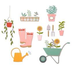 Sizzix - Fustella Thinlits - Garden Shed
