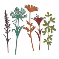 Sizzix - Fustella Thinlits - Wildflower Stems 2