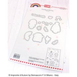 Impronte D'Autore - Fustella - Love in Color Donna