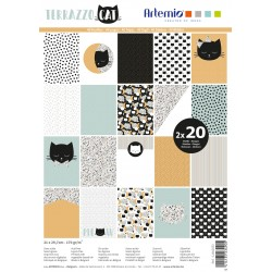 Artemio - Pad Carte A4 -  Terrazzo Cat