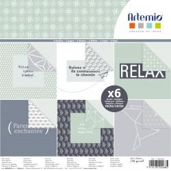 Artemio - Pad Carte 30x30 cm - Origami
