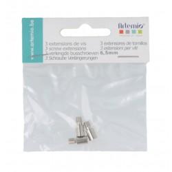 Artemio - Estensione per viti di rilegatura - 6,5 mm
