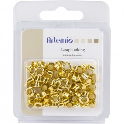Artemio - Occhielli - Gold 7mm