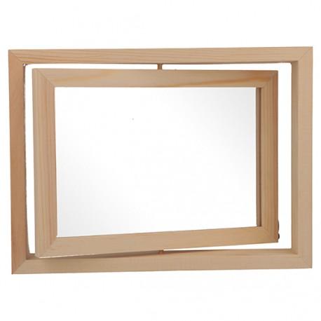 Artemio - Cornice in legno girevole 19,5x15x3 cm