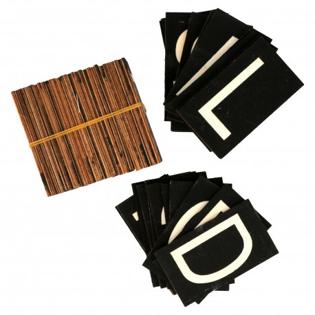 Artemio - lettere aggiuntive per scatola dei messaggi