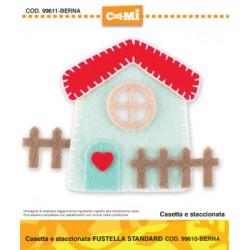 Impronte D'Autore - Fustella - Casetta e staccionata