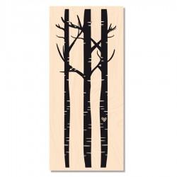 Les Ateliers de Karine - Timbro legno - Au Bois Joli