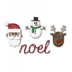 Sizzix - Fustella Thinlits -  Tim Holtz - Order Set - Noel