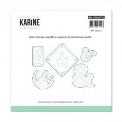 Les Ateliers de Karine - Fustella - Mini Esperluettes