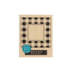 Florileges Design - Timbro legno - Cadre Magique