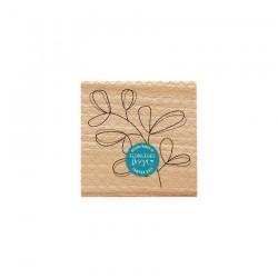 Florileges  Design - Timbro legno - Feuillage Simplissime