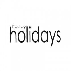 Penny Black - Timbro legno - holidays…
