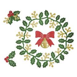 Cheery Lynn Designs - Fustella - Ghirlanda di Natale