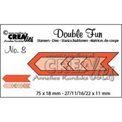 Crealies - Fustella - Double Fun 08