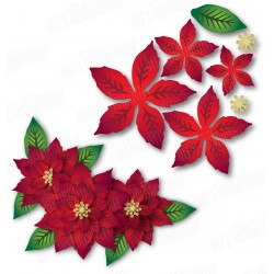 Dee's Distinctively - Fustelle - Poinsettia