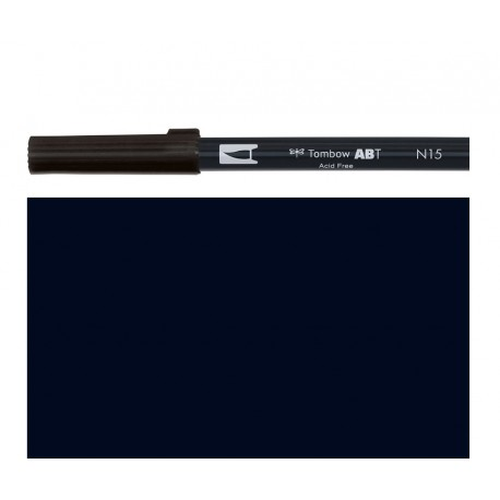 Tombow - Pennarello Dual Brush - Nero
