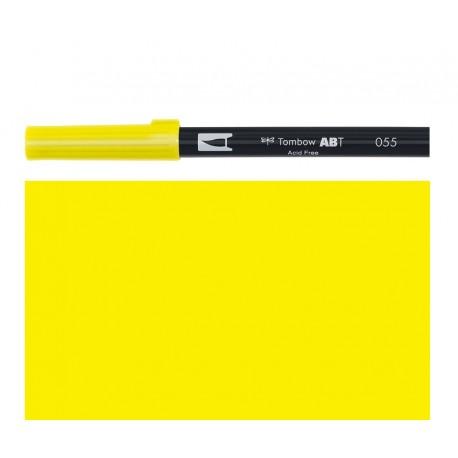 Tombow  - Pennarello Dual Brush - Process Yellow