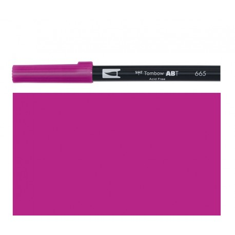 Tombow  - Pennarello Dual Brush - Purple