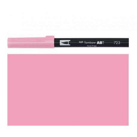Tombow - Pennarello Dual Brush - Pink 723