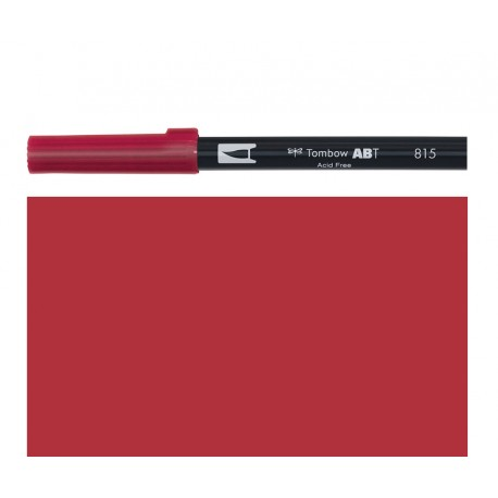 Tombow - Pennarello Dual Brush - Cherry 815