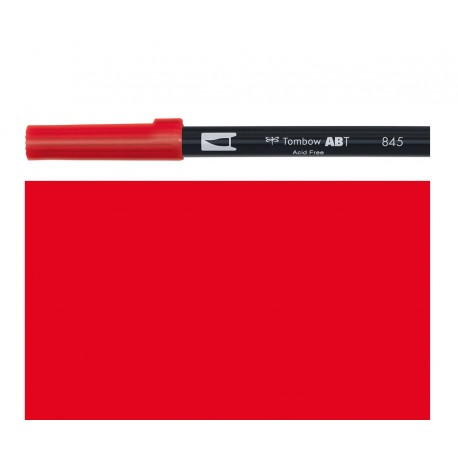 Tombow - Pennarello Dual Brush - Carmine 845