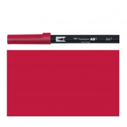 Tombow - Pennarello Dual Brush - Crimson 847