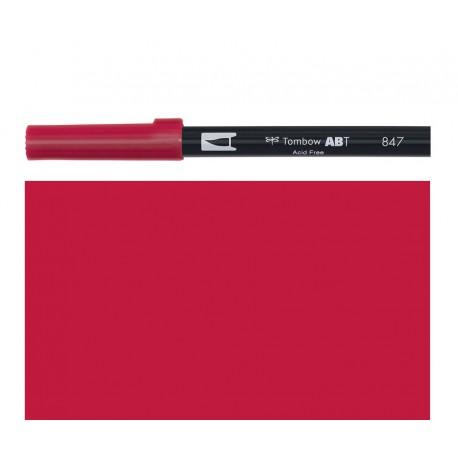 Tombow - Pennarello Dual Brush - Crimson 847