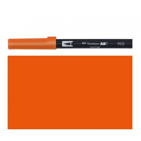 Tombow - Pennarello Dual Brush - Red