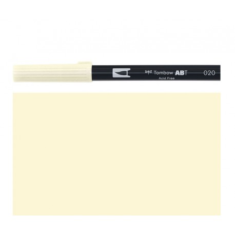 Tombow - Pennarello Dual Brush -  Peach 020