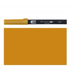 Tombow - Pennarello Dual Brush - Dark Ochre 027