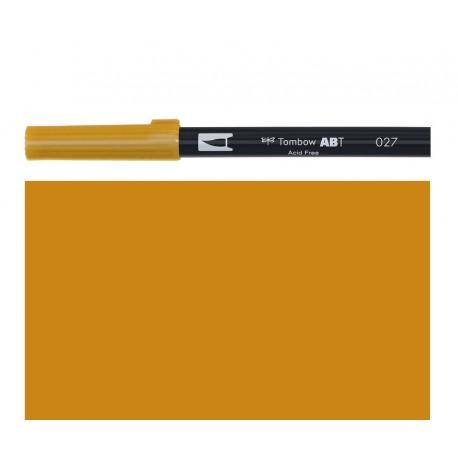 Tombow - Pennarello Dual Brush - Dark Ochre 027
