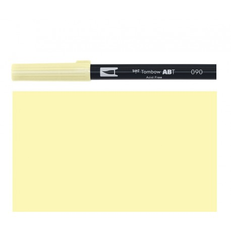 Tombow - Pennarello Dual Brush - Baby Yellow 090