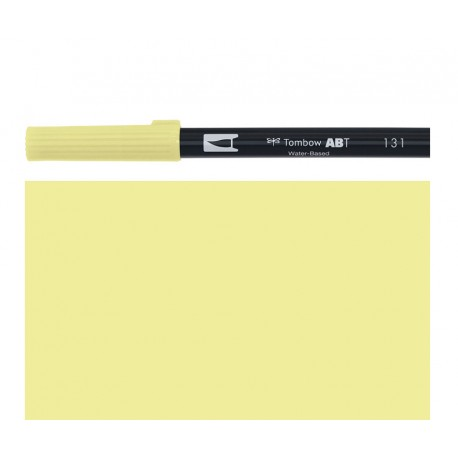 Tombow - Pennarello Dual Brush - Lemon Lime 131