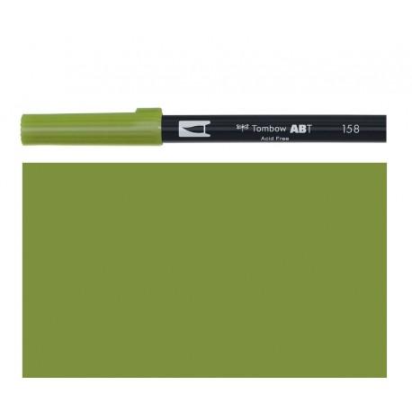 Tombow - Pennarello Dual Brush - Dark Olive 158