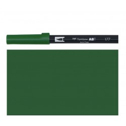 Tombow - Pennarello Dual Brush - Dark Jade 177