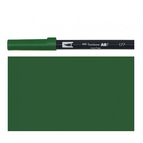 Tombow - Pennarello Dual Brush - Dark Jade 177