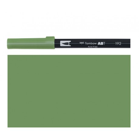 Tombow - Pennarello Dual Brush - Asparagus 192