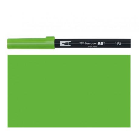 Tombow - Pennarello Dual Brush - Light Green 195