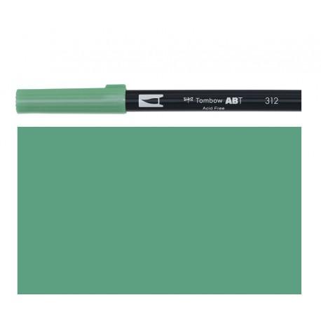 Tombow - Pennarello Dual Brush - Holly Green 312