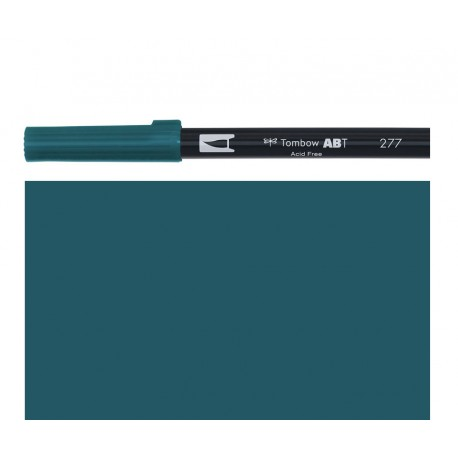 Tombow - Pennarello Dual Brush - Dark Green 277