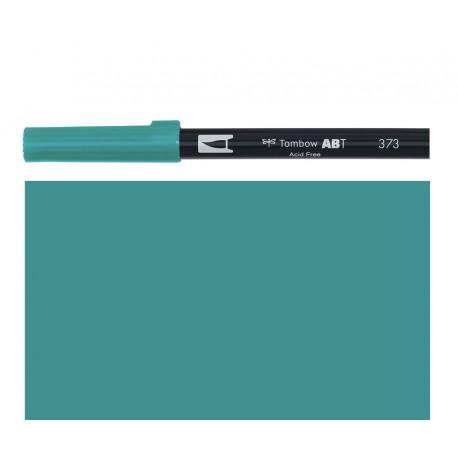 Tombow - Pennarello Dual Brush - Sea Blue 373