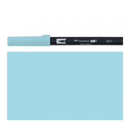 Tombow - Pennarello Dual Brush - Aqua 401